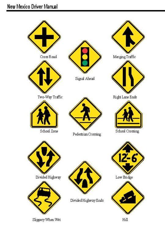 NM Highway Signs