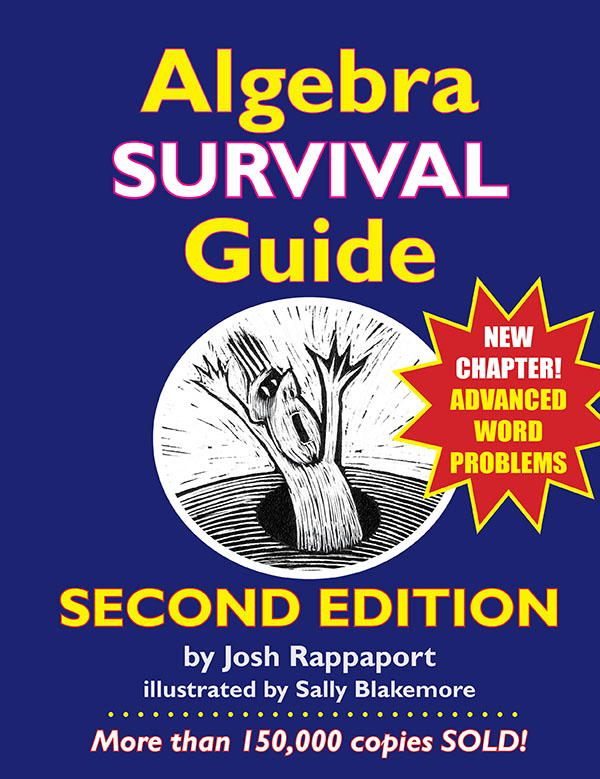 Algebra survival guide mathchat algebra survival guide second edition fresh off the presses fandeluxe Image collections