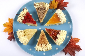 Thanksgiving Apple, Pecan, Cherry, Caramel, Pumpkin Spice And Ch