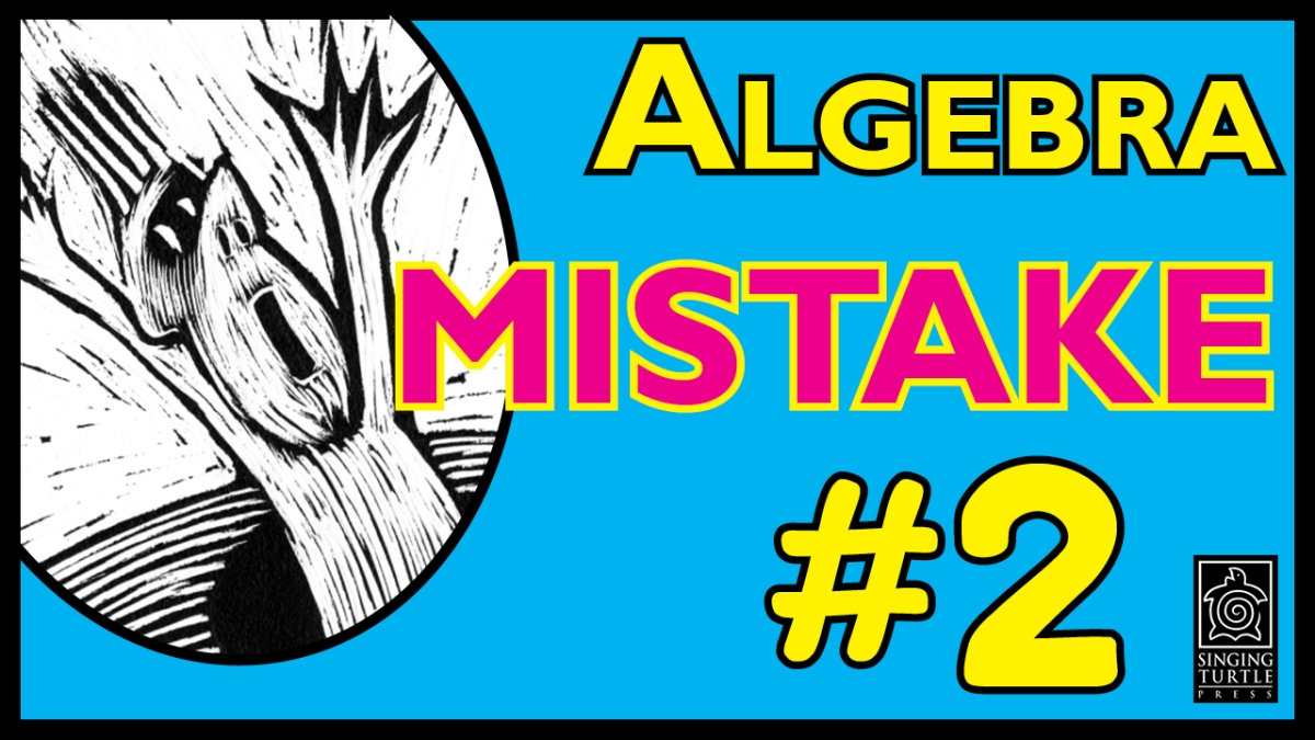Algebra Mistake #2: How to Understand the Difference between A x A ...